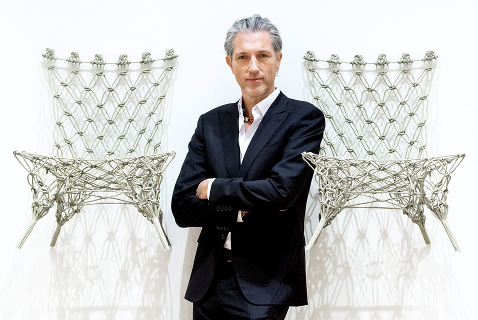 Knotted Chair - Marcel Wanders