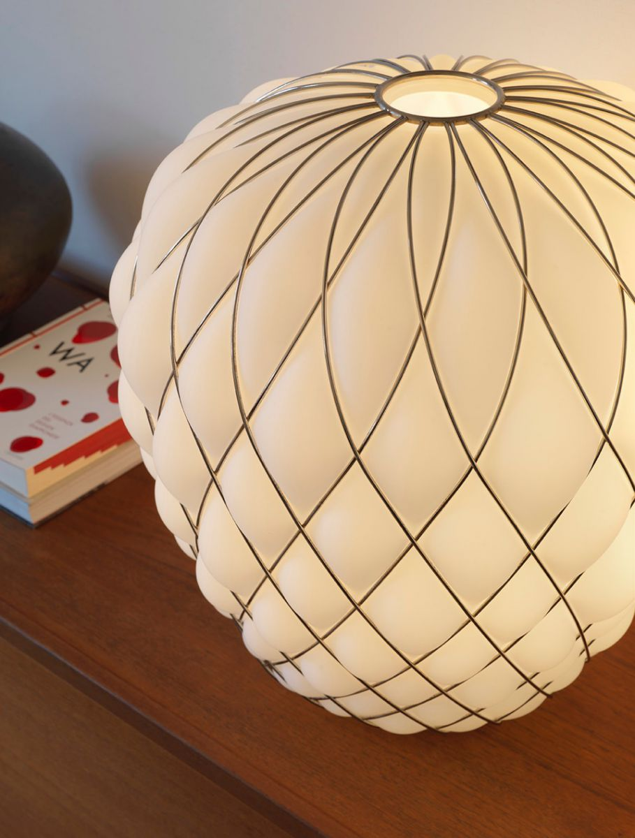 pinecone lampe de table