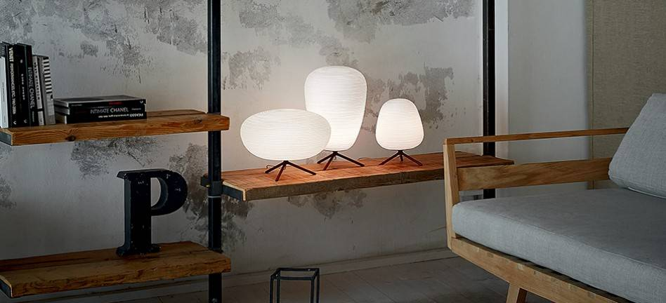 Rituals lampe de table 3 versions Foscarini